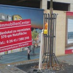 Jonas Druck großformatiges Banner für die Kreissparkasse Ahrweiler.