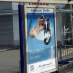 Jonas Druck City Light Poster mit Hinterleuchtung für die Stadtwerke Andernach.