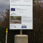 Jonas Druck Informationsschild für die Verbandsgemeinde Brohltal.