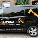 Jonas Druck Fahrzeugbeschriftung für Die Hausbauer Menden.