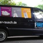 Jonas Druck Fahrzeugbeschriftung für Papier Rausch.