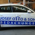 Jonas Druck Fahrzeugbeschriftung für Josef Otto & Sohn.
