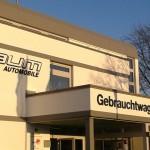 Jonas Druck Leuchtreklame & Schnittprodukte als Außenwerbung für Baum Automobile.