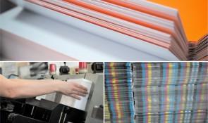 Produktion und Verarbeitung der Druckaufträge im Offsetdruck bei Jonas Werketechnik + Druck.
